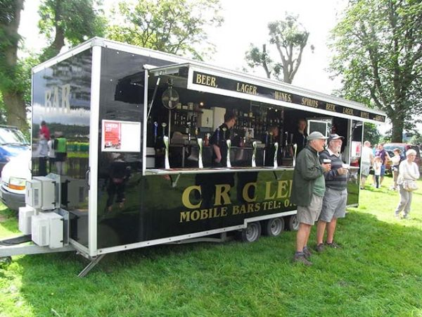 Catering at Rotary Ashover Classic Car & Bike Show